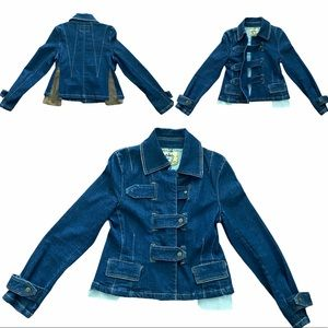 Alvin Valley Structured Denim Jacket Sz 38